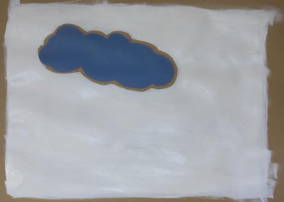 """A life inside a life. The first cloud. 20""""X30"""
